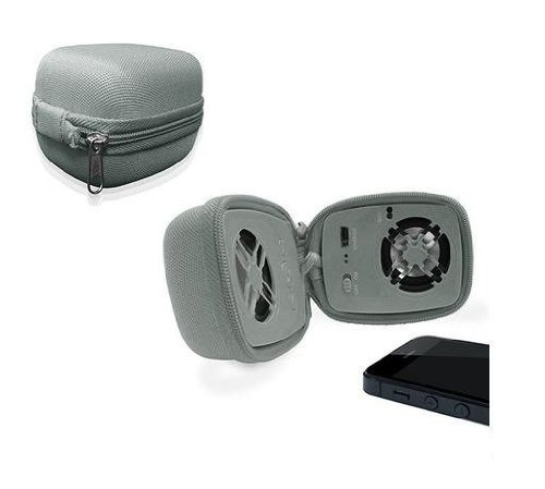 Urge Basics Travel Bluetooth Speaker With Built In Microphone (Gray)