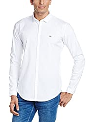 Basics Men's Casual Shirt (8907554054720_16BSH33949_Small_White)