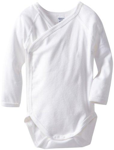 Детское боди Petit Bateau Unisex-Baby Newborn Crossover Jersey Knit Bodysuit