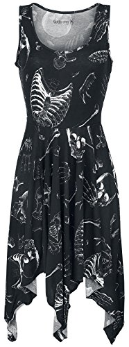 Gothicana by EMP Hankiehem Dress Abito nero M