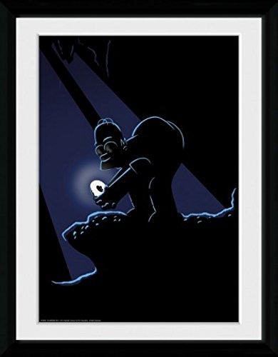 I Simpson - Gollum Poster Da Collezione Incorniciato (40 x 30cm)