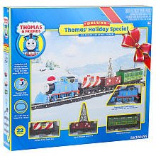 Bachmann - Deluxe Special Christmas Edition Electric Train Set - Thomas The Tank