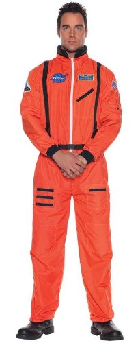 Costumes For All Occasions Ur29137Xxl Astronaut Mens Orange Xxlarge