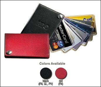 Fan-out Business Credit Card Holder - Black