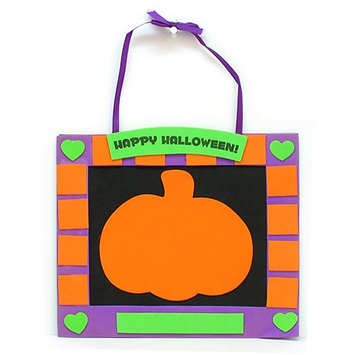 Halloween Handprint Hanger Craft Kit - 1