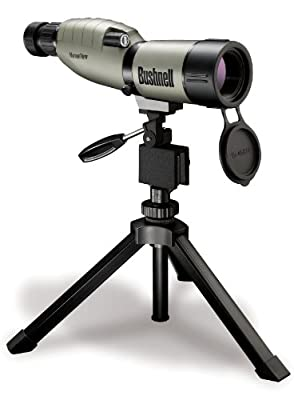 Bushnell NatureView 15-45 x 50mm Porro Prism Waterproof/Fogproof Spotting Scope with Compact Tripod, Tan from Bushnell