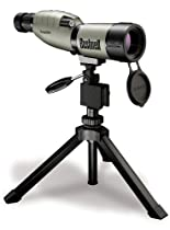 Bushnell NatureView 15-45 x 50mm Porro Prism Waterproof/Fogproof Spotting Scope with Compact Tripod, Tan