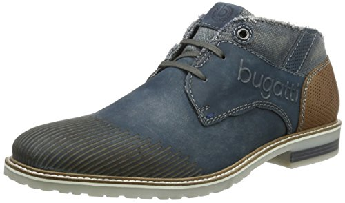 bugattif9235pr56-botas-de-cana-baja-con-forro-calido-y-botines-hombre-color-azul-talla-40