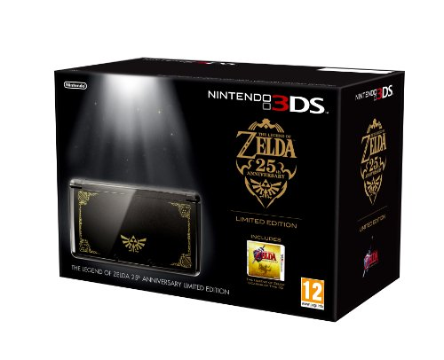 Nintendo 3DS Console -  Limited Edition Legend of Zelda: Ocarina of Time Bundle (Nintendo 3DS)