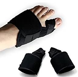 HappyStep 1 Pair Bunion Splint, Hallux Valgus Corrector, Bunion Corrector, Toe Straightener, Big Toe Alignment and Bunion Pain Relief - Size L: Women Size 11 - 13 or Men Size 9 - 12