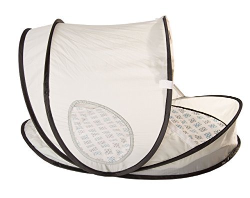 EquiptBaby Bassinet Portable Collapsible Bassinet for Babies & Families On The Move