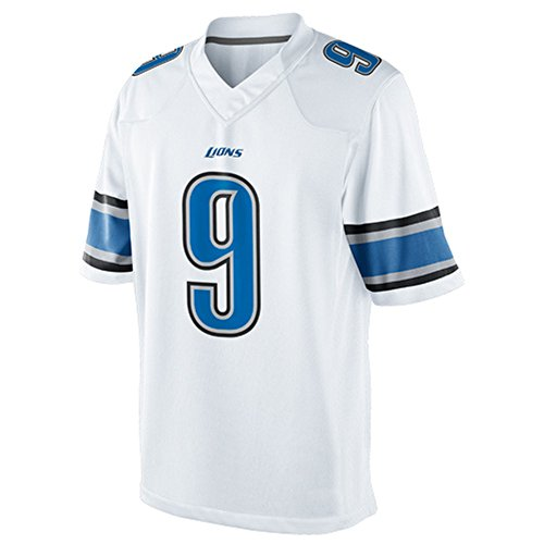 Kids 9 Matthew Stafford Jersey White Small (Stafford Performance Super Shirt compare prices)