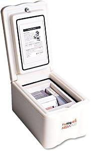 FireKing MV1000 MediaVault Insulated Key Lock Fire Safe, 74lbs, 11-5 8 x 17-1 2 x... by FireKing