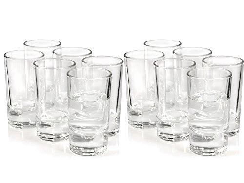 Vodkaglserset-12-tlg-Schnaps-Shot-Tequila-Likr-Vodka-Glas-Pintchen-Stamper