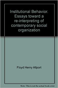 Organizational behavior issue essays