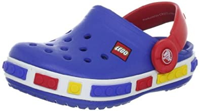 Best Price Crocs Crocband Lego Backstrap Clog (Toddler/Little Kid) Sale Cheap