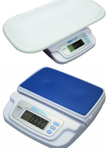 Adam Equipment Baby Infant Toddler Scale 44X0.01 Lb / 20Kg X 5G,Ac Adapter And Battery front-242317