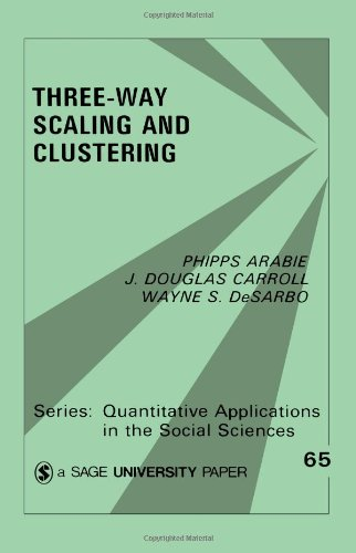 Three Way Scaling: A Guide to Multidimensional Scaling and Clustering (Quantitative Applications in the Social Sciences)