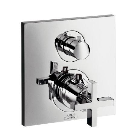 Hansgrohe Hans Grohe Thermostat Unterputz Axor Citterio F-Set chrom m.Absperrventil/Kreuzg