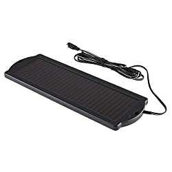 Solar Panel 12V Battery Charger with Connector Wire for Cars/RV/SUV/Boats