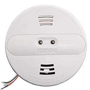 Kidde PI2010 Smoke Alarm Dual Sensor with Battery Backup, White