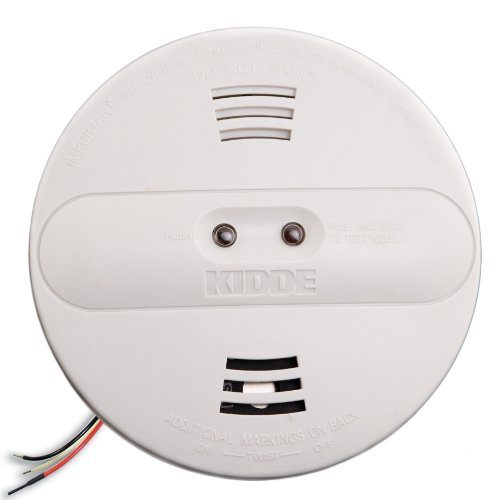 kidde pi2010 hardwired dual photoelectric and ionization sensor smoke alarm with battery backup. Black Bedroom Furniture Sets. Home Design Ideas