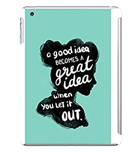 Great Idea Designer Back Case Cover for Apple iPad Mini