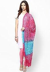 Soundarya Ethnicwear Cotton Bandhej Handwork Dupatta for Women (3062)