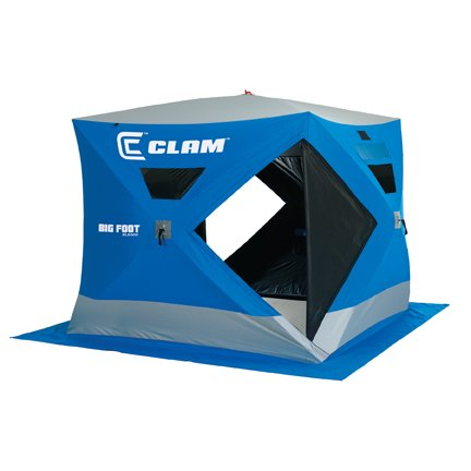 Clam Big Foot XL2000 (7.5' x 7.5') 2-3 man Ice Fishing Shelter House - 9128