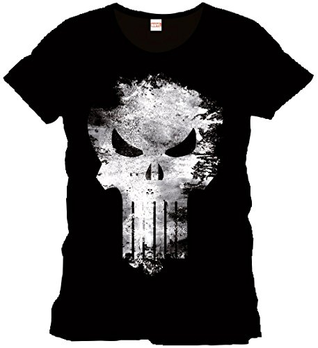 Punisher T-Shirt Distress Skull Size XL CODI
