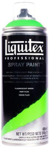 Liquitex Professional Spray Paint 12-oz, Fluorescent Green (Fluorescent Green Spray Paint compare prices)