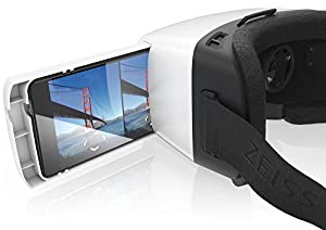 VR ONE Virtual Reality Headset for iPhone 6 Tray - White
