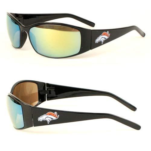 NFL - Team Logo Straight Frame Sport Sun Glasses -UVA/UV Protection (Denver Broncos) (Nfl Sun Shade Denver compare prices)