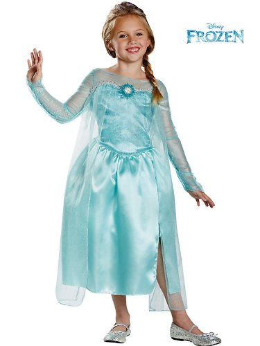 76906 (4-6X) Elsa Snow Queen Gown Classic Frozen Costume
