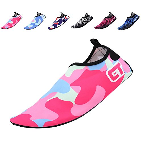 03. CIOR Men Women and Kids Quick-Dry Water Shoes Lightweight Aqua Socks For Beach Pool Surf Yoga Exercise
