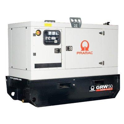 43000 Watt Towable Diesel Generator With Manual/Auto Start