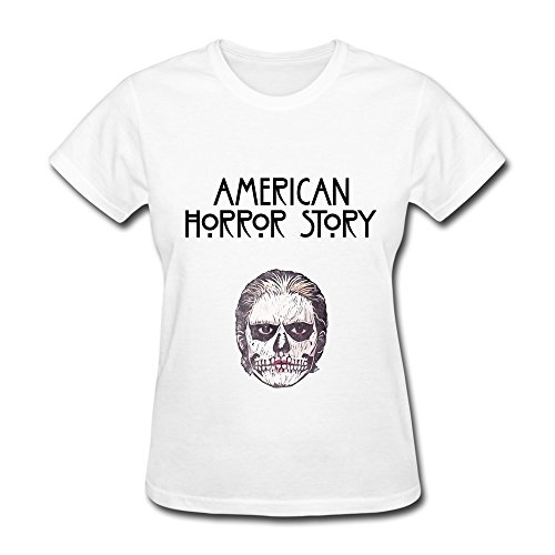 WXMY Women's 100% Cotton American Horror Story Evan Peters T-shirt