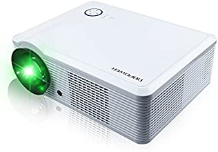 DBPOWE RVideo Projector 800600 2000 Lumens HD Home Theater Multimedia LCD Projector 1080P HDMI USB T