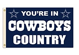 NFL Dallas Cowboys 3-by-5 Foot In Country Flag by Fremont Die