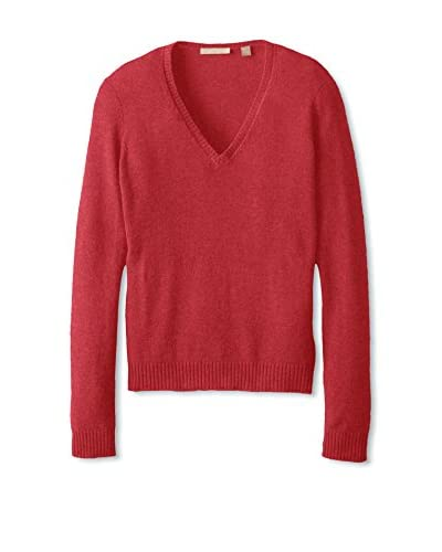 Cashmere Addiction Women's V-Neck Sweater
