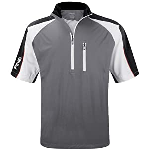 Ping Collection Mens 2014 Challenge Playing Top Waterproof Golf Jacket Short Sleeve by Ping Collection