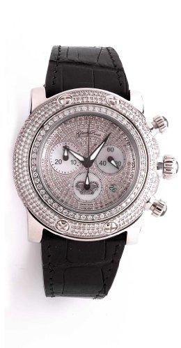 Glam Rock donna-Orologio da polso Cronografo XL cuoio GR80101