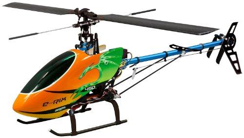 Jamara-031561-RC-E-Rix-450-Carbon-RTF-Gas-rechts-Eingeflogen-inklusive-24-GHz-Fernsteuerung