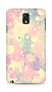 Amez designer printed 3d premium high quality back case cover for Samsung Galaxy Note 3 (heart pattern)