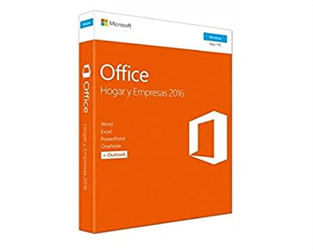 Microsoft Office Home & Business 2016 - Suite De Utilidades Para Windows, Español