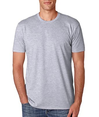 N6210 Next Level Men's CVC Crew - Dark Heather Grey (90/10) - S