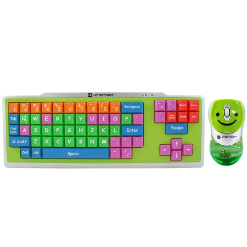 Hip Street Kids Big Button USB Keyboard and Mouse (HS-KIDKB01)