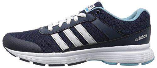 Adidas Performance Women's Cloudfoam VS City W Running Shoe, Collegiate Navy/Matte Silver/Vapor Blue Fabric, 8.5 M US