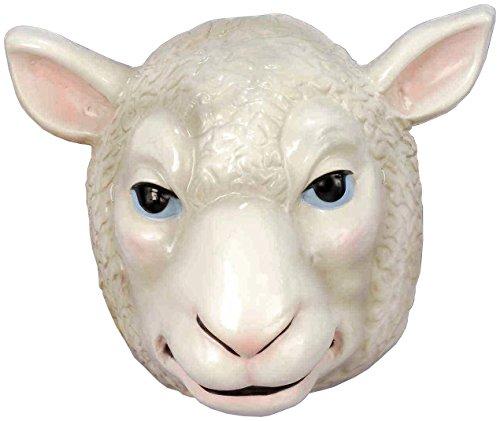 Wyatt Family White Sheep Mask