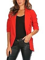 French Code Americana Mujer Billie (Rojo)